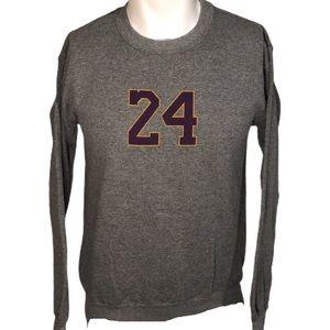 Kobe Bryant 24 Number Crewneck